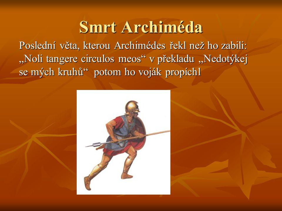Smrt Archiméda