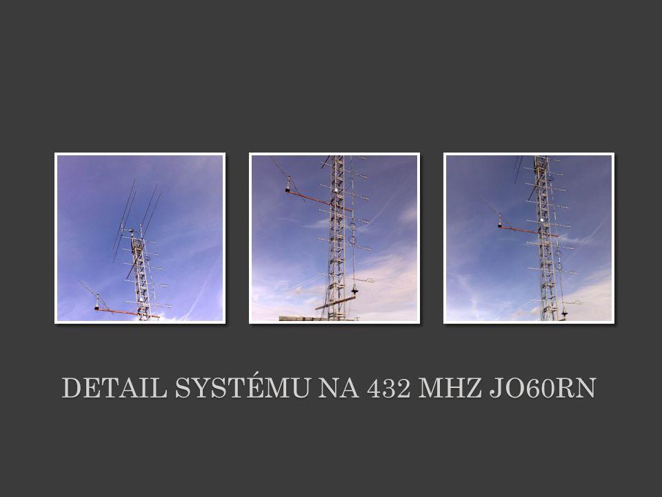 Detail systému na 432 MHz JO60RN