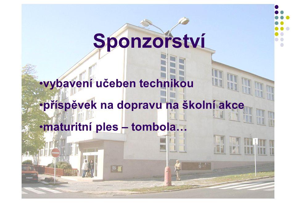 Sponzorství vybavení učeben technikou