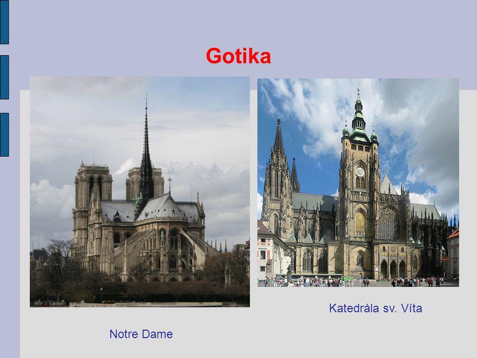 Gotika Katedrála sv. Víta Notre Dame