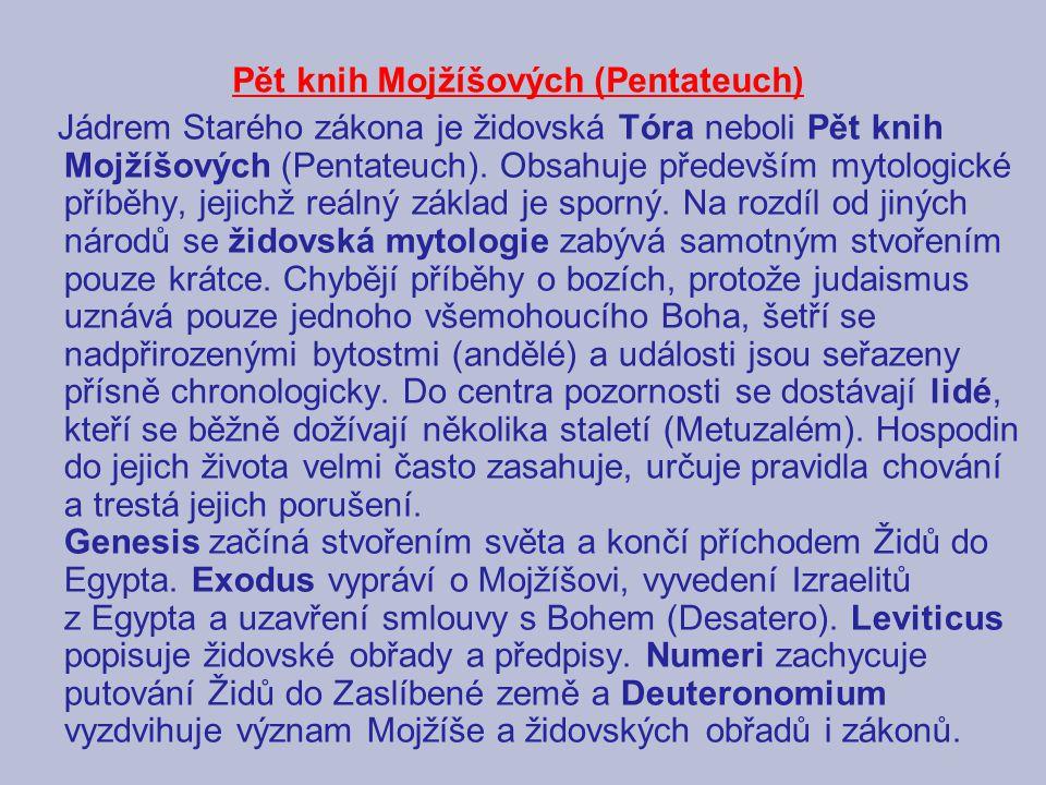 Pět knih Mojžíšových (Pentateuch)