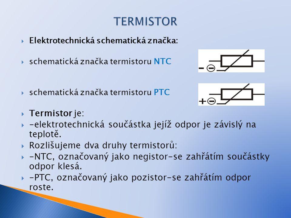 TERMISTOR Termistor je: