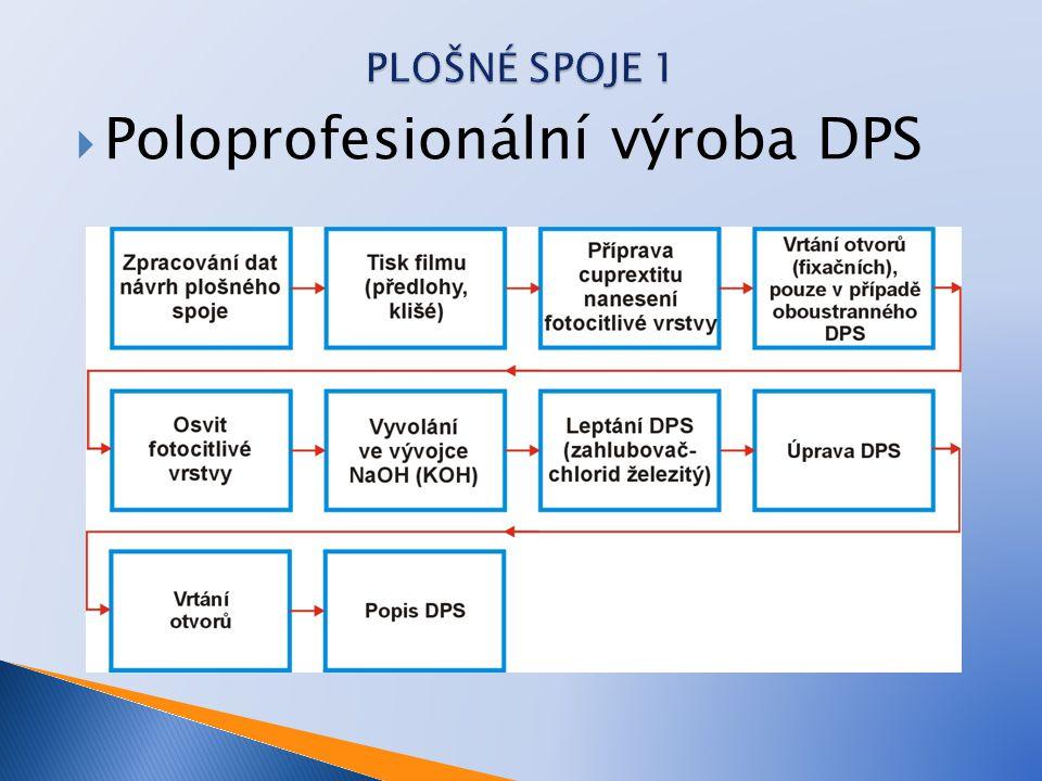 Poloprofesionální výroba DPS