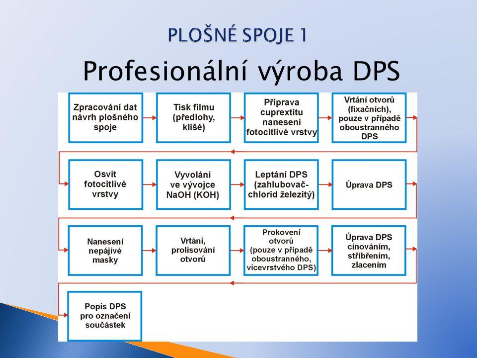 Profesionální výroba DPS