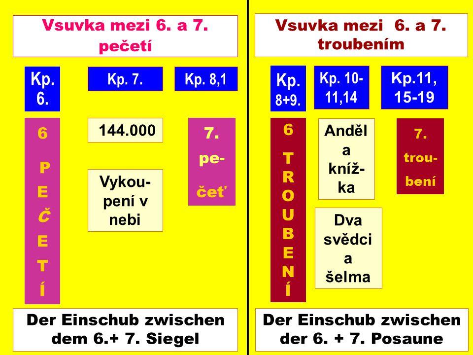 Kp. 6. Kp. 8+9. Vsuvka mezi 6. a 7. pečetí