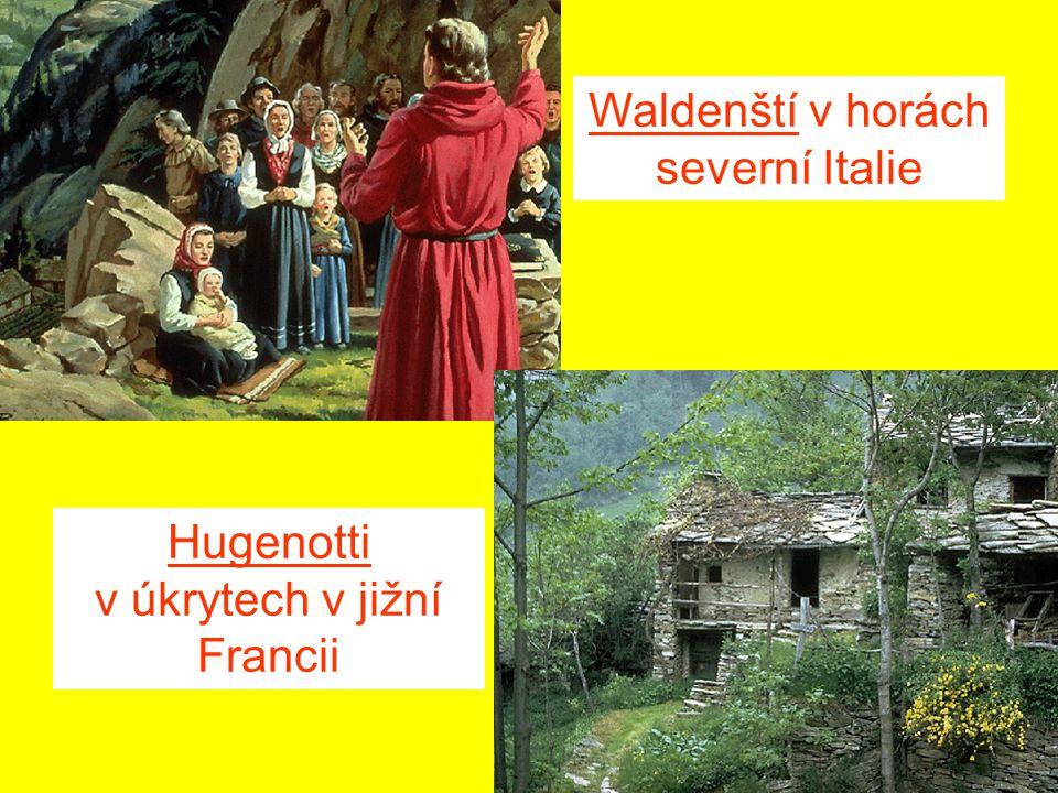 Waldenští v horách severní Italie