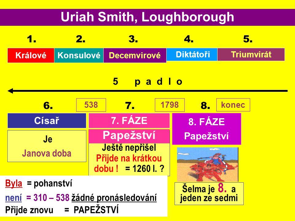 Uriah Smith, Loughborough