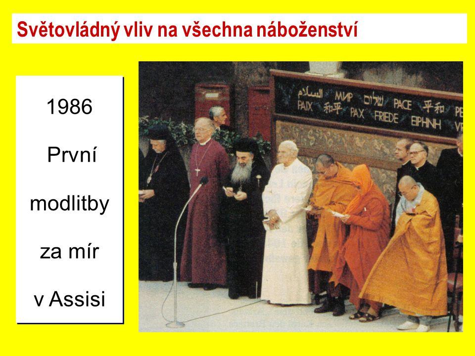 Světovládný vliv na všechna náboženství