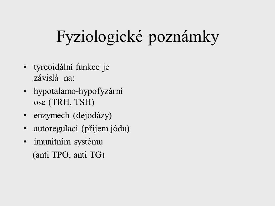 Fyziologické poznámky