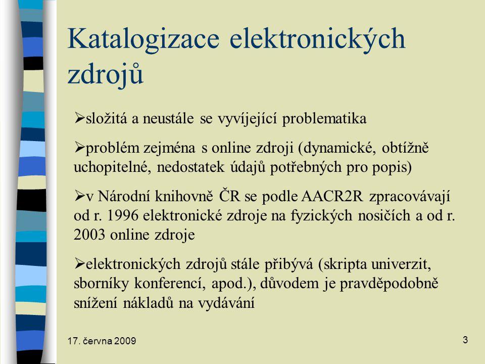 Katalogizace elektronických zdrojů