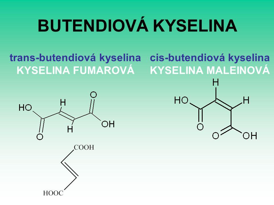 BUTENDIOVÁ KYSELINA trans-butendiová kyselina KYSELINA FUMAROVÁ