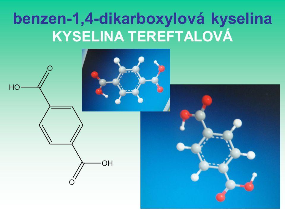 benzen-1,4-dikarboxylová kyselina KYSELINA TEREFTALOVÁ