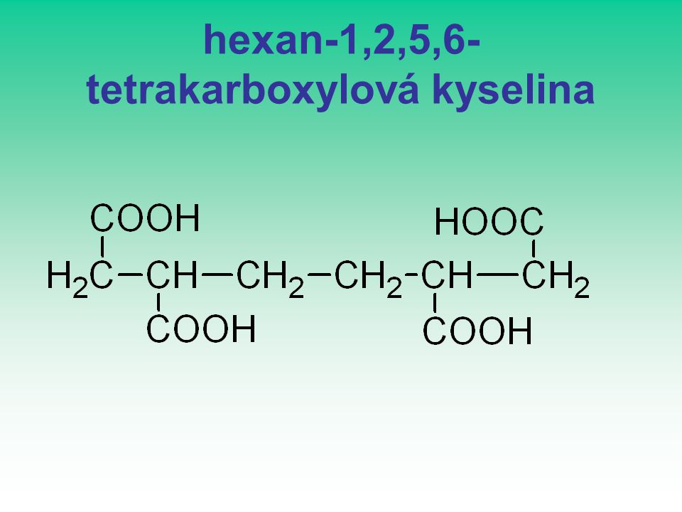 hexan-1,2,5,6-tetrakarboxylová kyselina