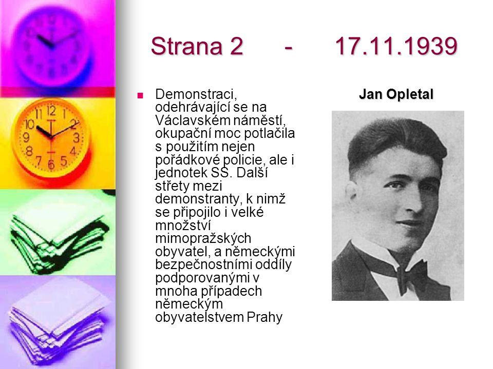 Strana 2 - 17.11.1939