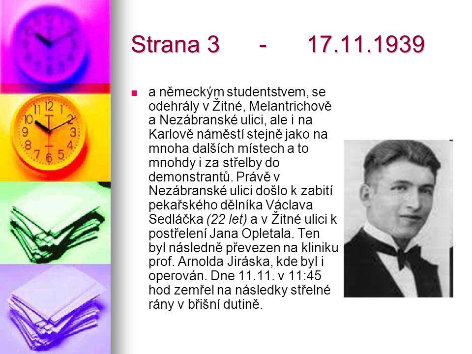Strana 3 - 17.11.1939