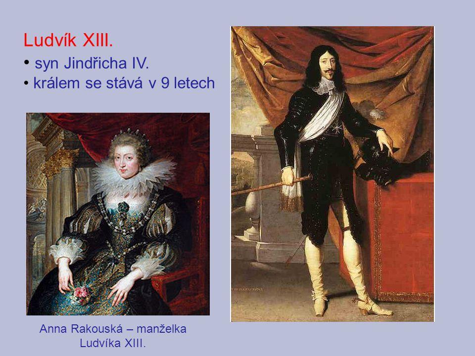 Anna Rakouská – manželka Ludvíka XIII.