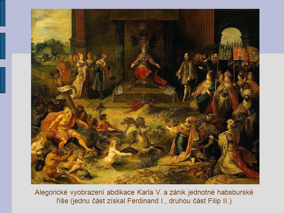 Alegorické vyobrazení abdikace Karla V