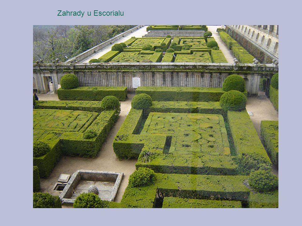 Zahrady u Escorialu