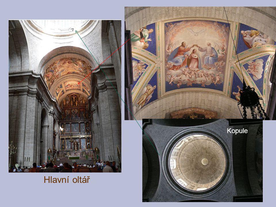 Kopule Hlavní oltář