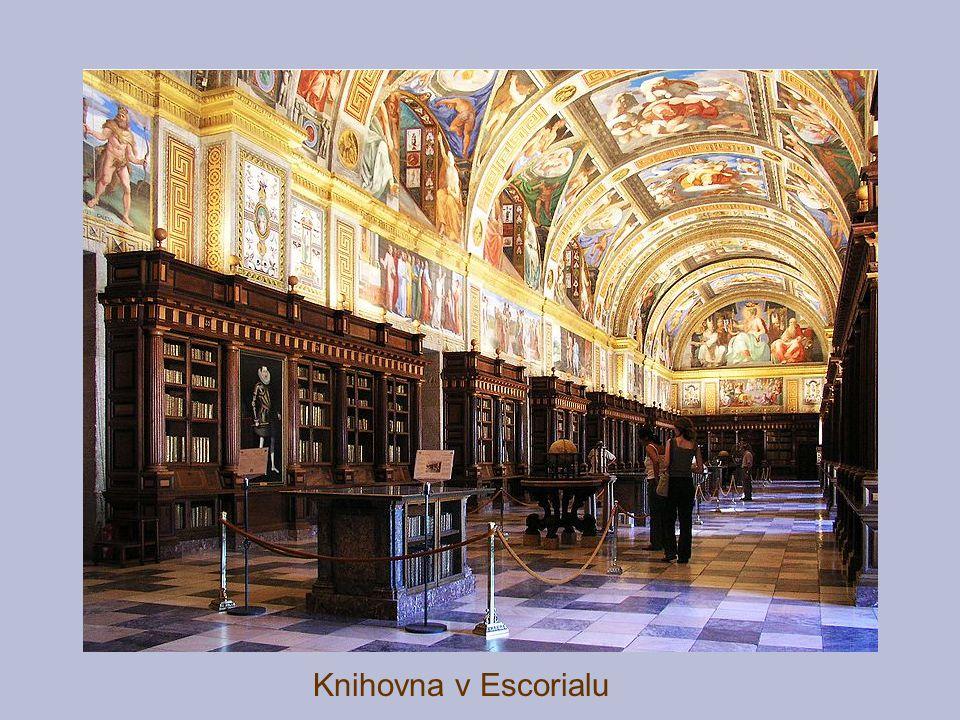 Knihovna v Escorialu