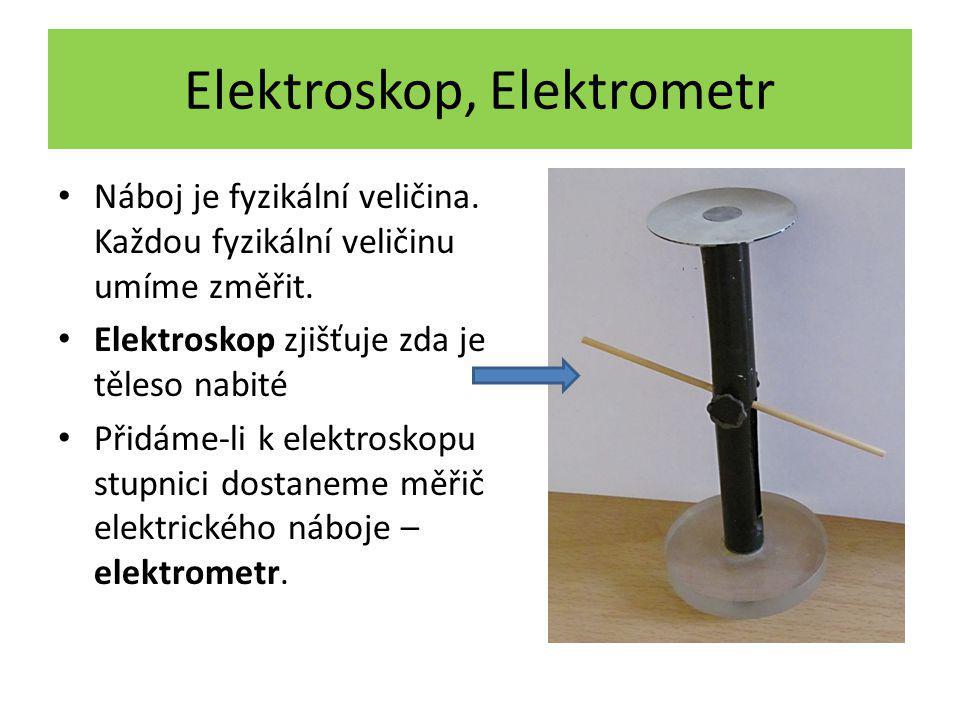 Elektroskop, Elektrometr