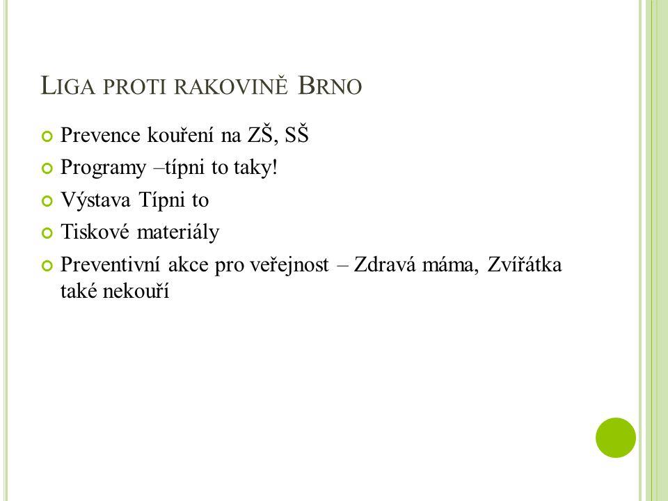 Liga proti rakovině Brno
