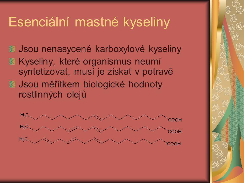 Esenciální mastné kyseliny
