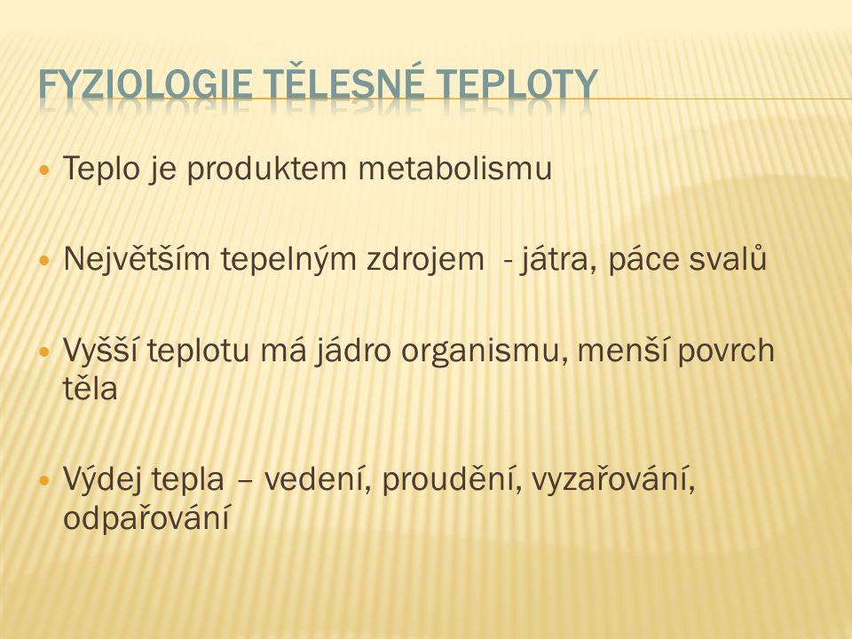 Fyziologie tělesné teploty