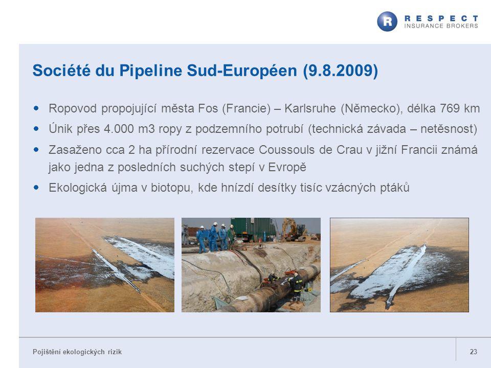 Société du Pipeline Sud-Européen (9.8.2009)