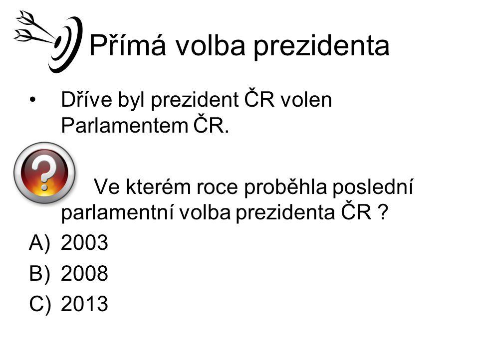 Přímá volba prezidenta