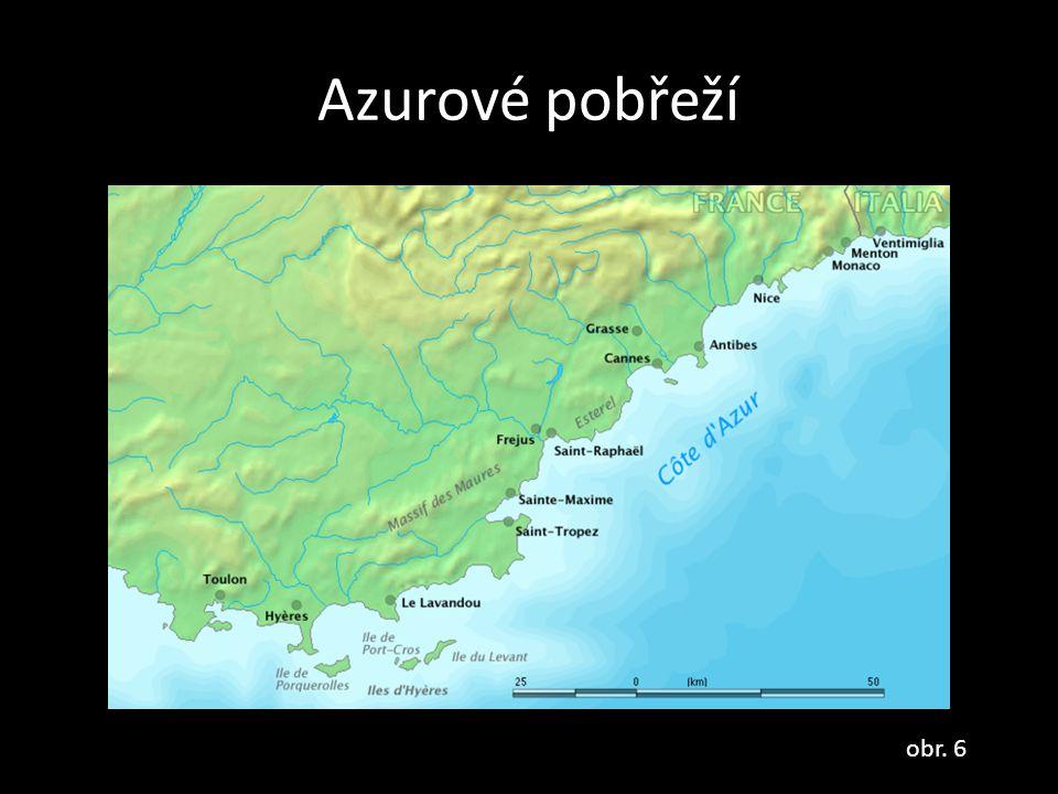 Azurové pobřeží obr. 6
