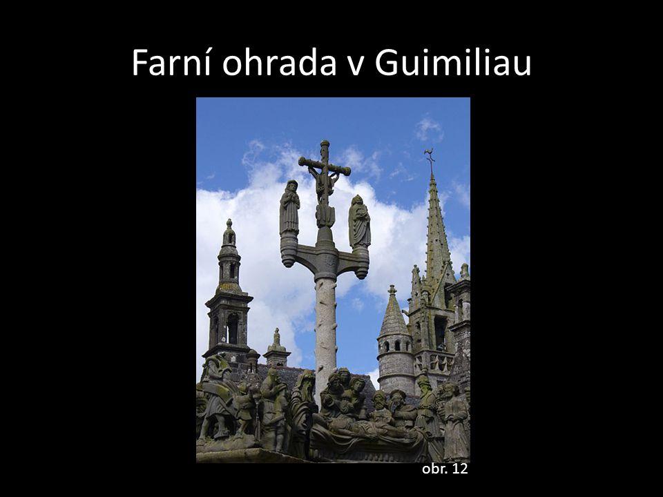 Farní ohrada v Guimiliau
