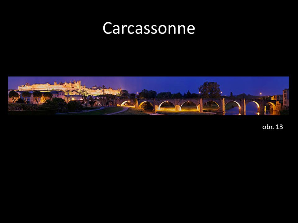 Carcassonne obr. 13