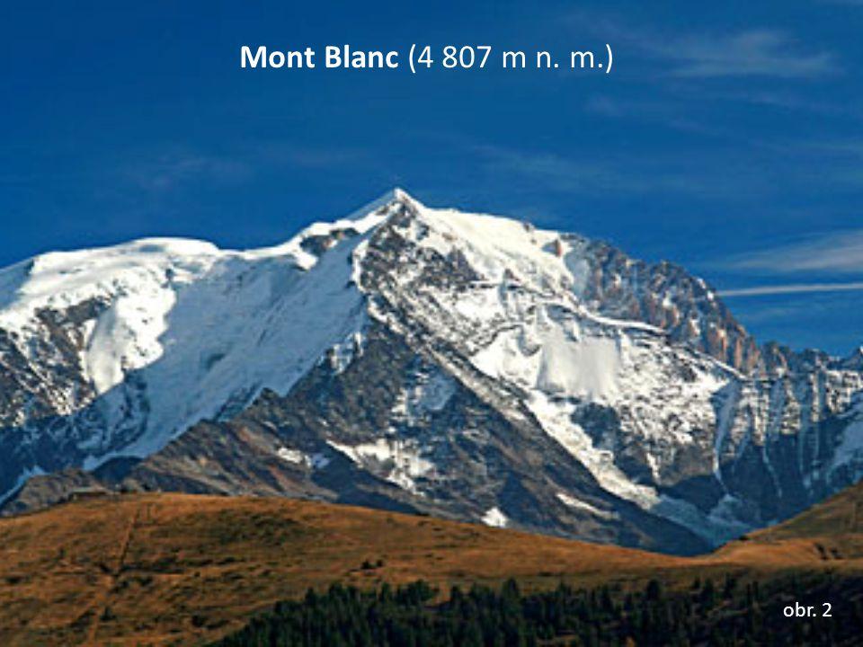 Mont Blanc (4 807 m n. m.) obr. 2