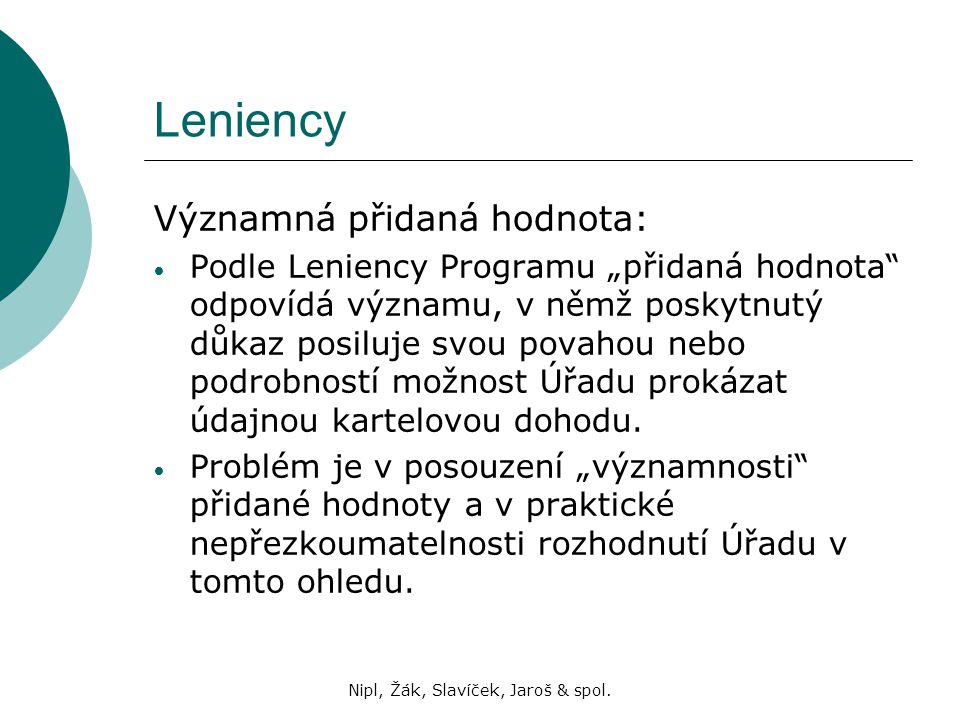 Nipl, Žák, Slavíček, Jaroš & spol.