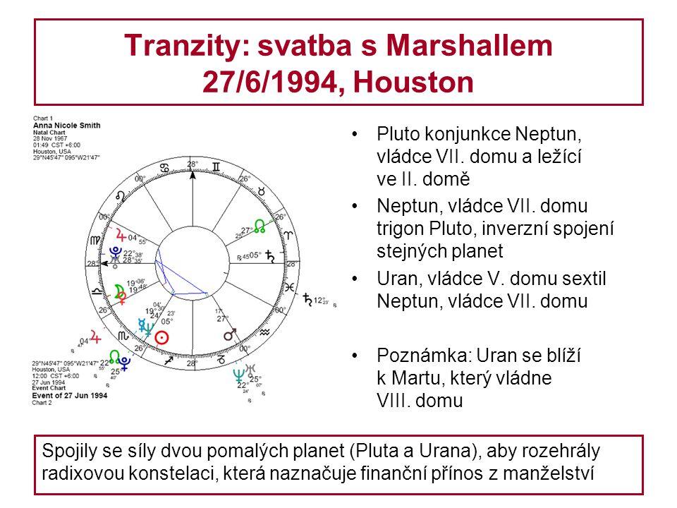 Tranzity: svatba s Marshallem 27/6/1994, Houston