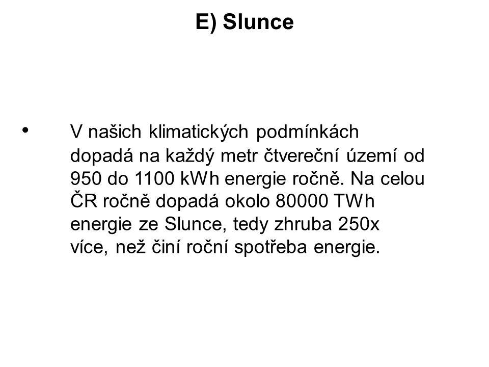 E) Slunce