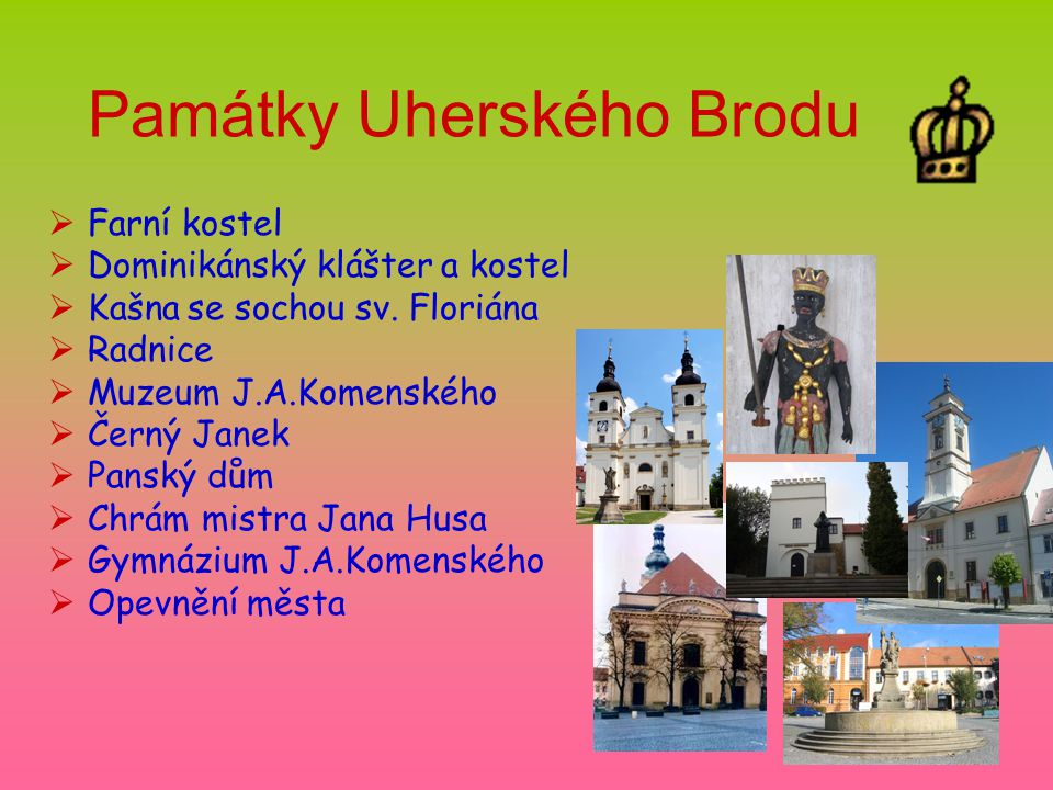 Památky Uherského Brodu