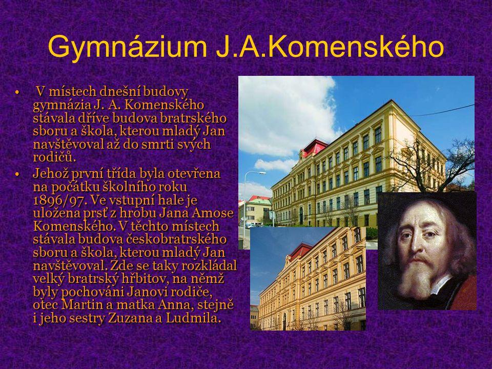 Gymnázium J.A.Komenského