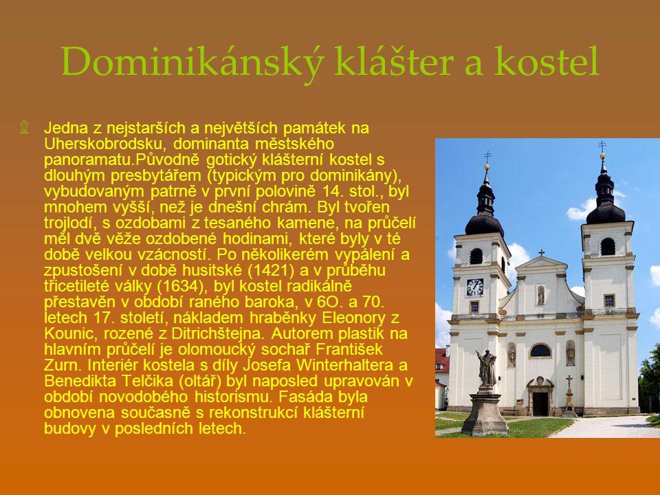 Dominikánský klášter a kostel