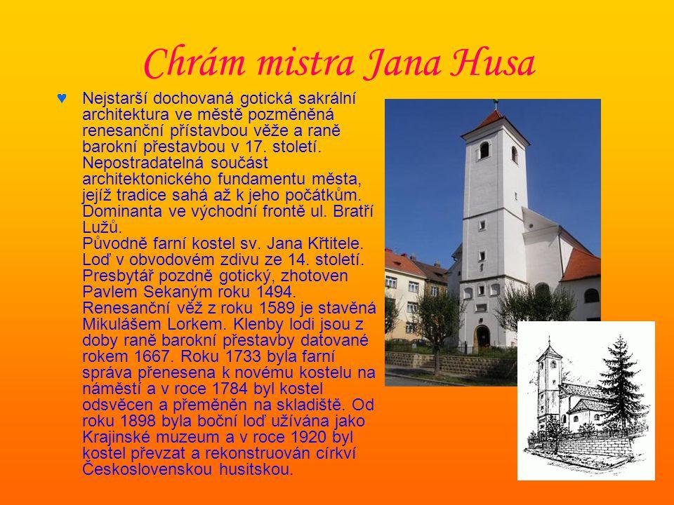 Chrám mistra Jana Husa