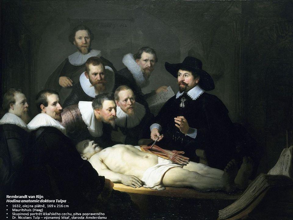 Hodina anatomie doktora Tulpa