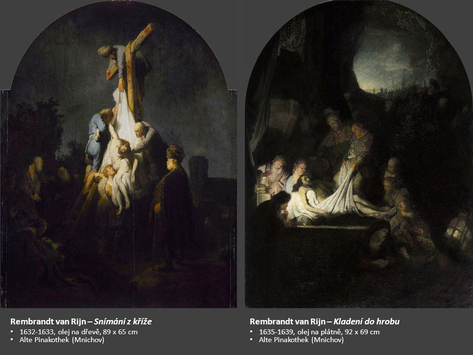 Rembrandt van Rijn – Snímání z kříže