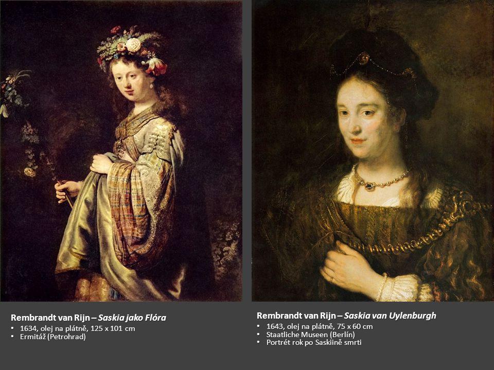 Rembrandt van Rijn – Saskia jako Flóra