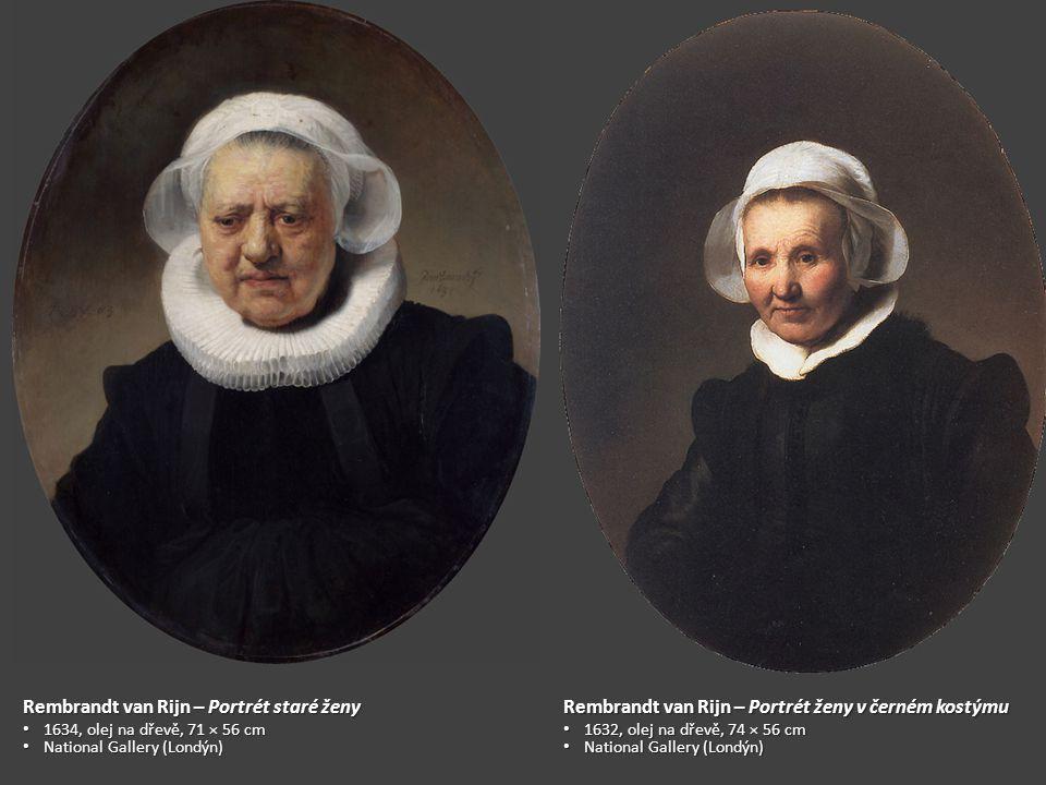 Rembrandt van Rijn – Portrét staré ženy