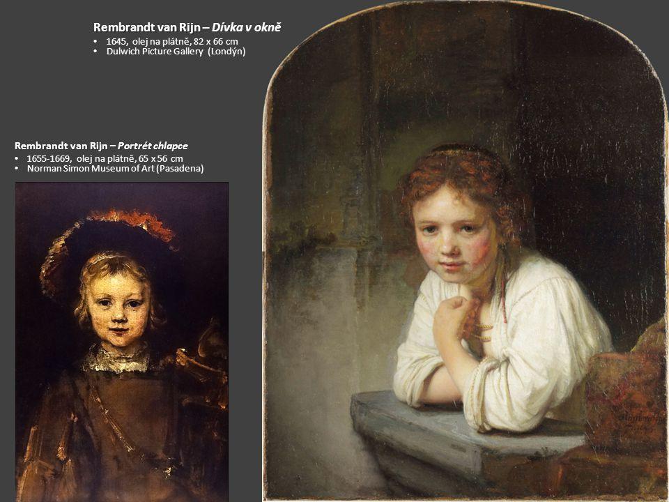 Rembrandt van Rijn – Dívka v okně