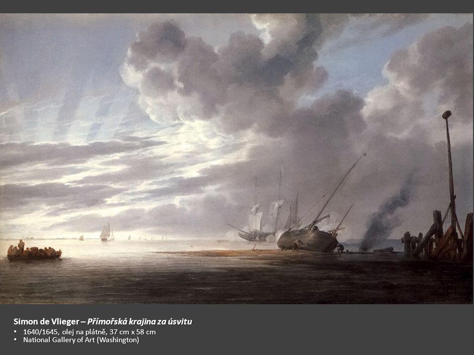 Simon de Vlieger – Přímořská krajina za úsvitu