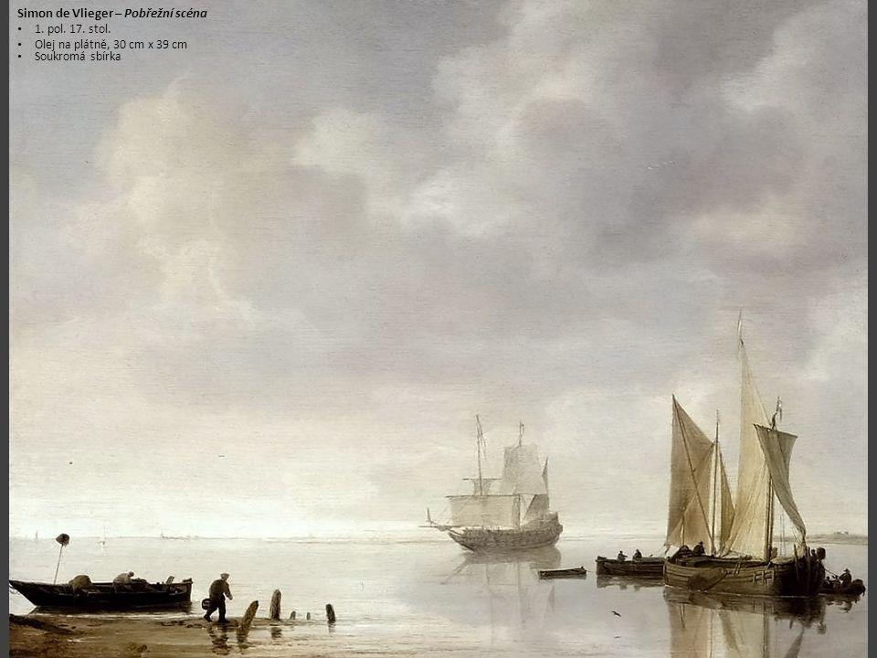 Simon de Vlieger – Pobřežní scéna