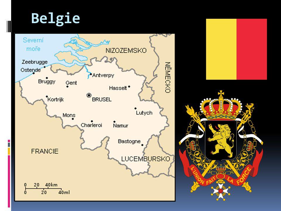 Belgie oficiálně Belgické království