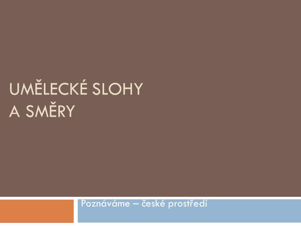Poznáváme – české prostředí